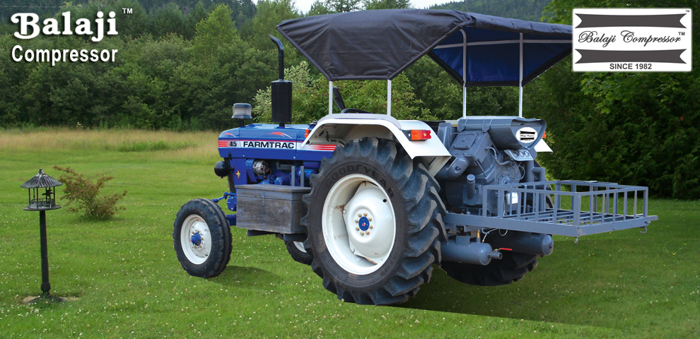 Tractor Mounted Air Compressors from Kunnathur
